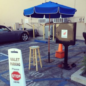 Valet Parking Companies in Los Angeles, CA: Usually, our parking attendant services will be set up like so...